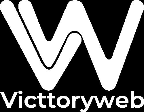 logo blanco victtoryweb